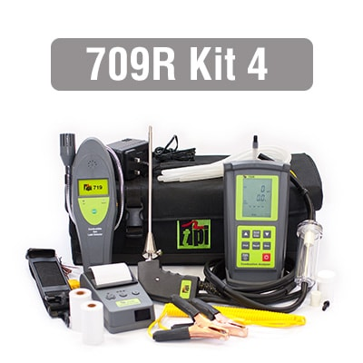 709R Flue Gas Analyser Kit 4